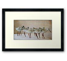 Onward motion... Framed Print