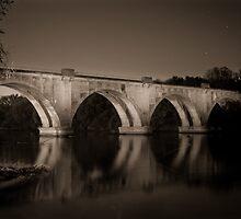 Fredericksburg Train Bridge by Stephen Graham