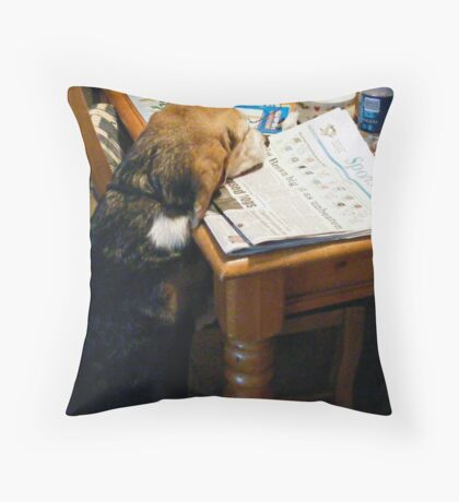 What's the Score Throw Pillow