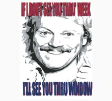 Keith Lemon Thru' Window Comic Book Tee by chrisjh2210