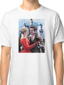 Captain Swan Fairy Tale Watercolor Design 2 Classic T-Shirt