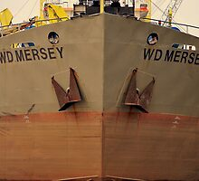 Bow Shot WD Mersey. by Stan Owen