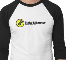 Blake & Banner Demolitions Co. Men's Baseball ¾ T-Shirt