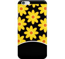 Yellow and Black Daisy Case iPhone Case/Skin