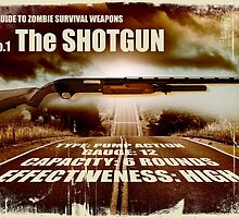 Zombie Weapons - The Shotgun by robotrobotROBOT