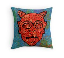 'Handsome Devil Mask #2' Throw Pillow