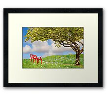 Summer Oasis Framed Print