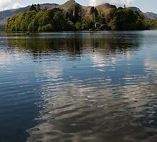 Derwent Water Cloud Reflection by brianhardy247