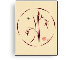 Sacred Circle - Original Enso Zen Painting Canvas Print