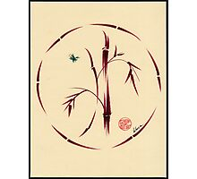 Sacred Circle - Original Enso Zen Painting Photographic Print