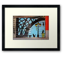 Memories of Spain 1 - Street Art in Valencia Framed Print