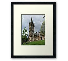 Glasgow Uni Framed Print