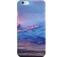 First sunset snow Tule Peak iPhone Case/Skin