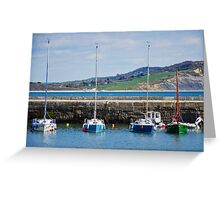 Four Masts Greeting Card