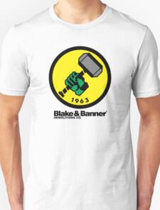 Blake & Banner Demolitions Co. (Big Logo) T-Shirt