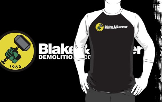 Blake & Banner Demolitions Co. (White Text) by Eozen