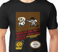 AVGN VS Dr. Wily NES Box Art Unisex T-Shirt