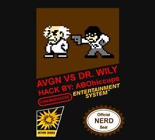 AVGN VS Dr. Wily NES Box Art Unisex T-Shirt