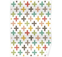 Hipster Crosses Poster