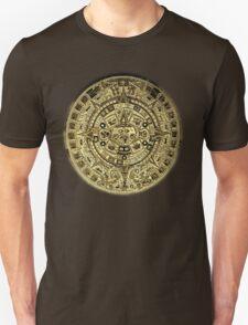 ©HS Aztec Sun Calendar I Unisex T-Shirt
