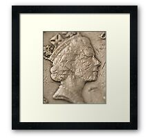 The Queens Nose Framed Print
