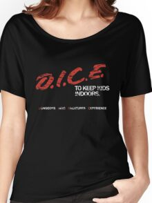 D.I.C.E. Women's Relaxed Fit T-Shirt