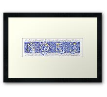 Zine - Noel - Angels 2015 Framed Print