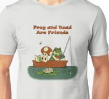 Frog and Toad are Friends Unisex T-Shirt