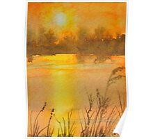 Lake Weir Sunrise Poster