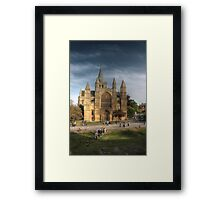 Rochester Cathedral Framed Print