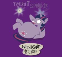 Twilight Sprinkle: Friendship is Laziness by NerdCat