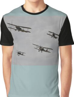 WW1 Formation Flyover,Avalon Airshow,Australia 2015 Graphic T-Shirt