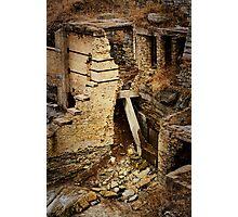 The Building Blocks Photographic Print
