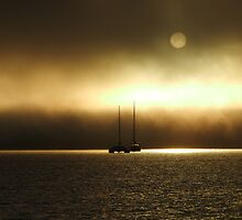 Fog at Sunrise by diversedesign