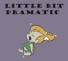 Little Bit Dramatic (Pebbles Flintstone) Kids Clothes