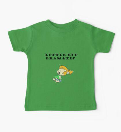 Little Bit Dramatic (Pebbles Flintstone) Baby Tee