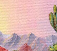 A Desert Scene * Sticker