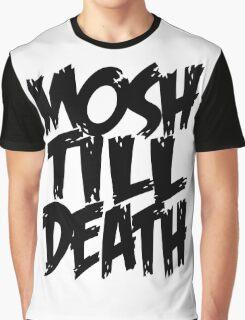 Mosh Till Death Graphic T-Shirt