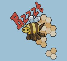 The Angry Honey Bee Kids Tee