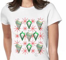 """""""Swedish Modern Teardrops and Flakes""""© Womens Fitted T-Shirt"""