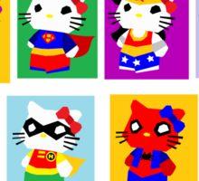 Hero Kitty  Sticker