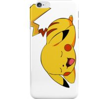 Lazy Pikachu iPhone Case/Skin