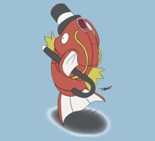 Fin Tapping Magikarp by Sagedrone182