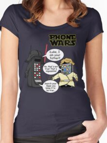 Phone Wars Women's Fitted Scoop T-Shirt