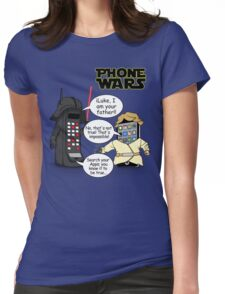 Phone Wars Womens Fitted T-Shirt