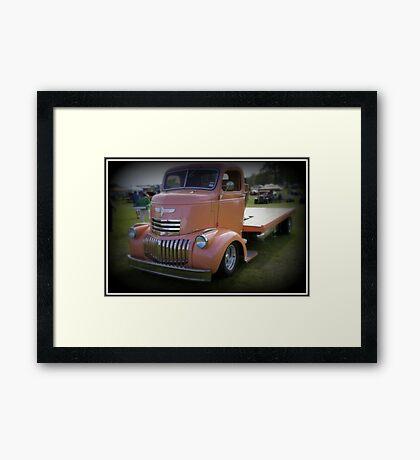 Pink Wreck Framed Print