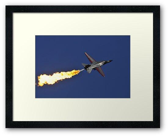 F-111 Dump and Burn by Tim Pruyn