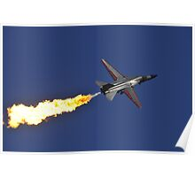 F-111 Dump and Burn Poster
