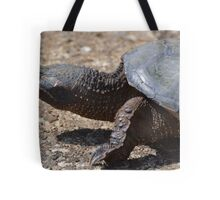 Moving At The Speed Of Turtle. Tote Bag