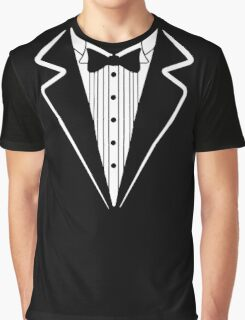 Bow Tie Tuxedo T-shirt Graphic T-Shirt